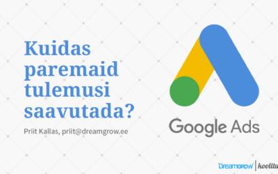 Google Ads spetsialisti online koolitus