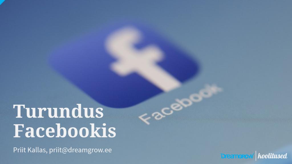 Facebook koolitus