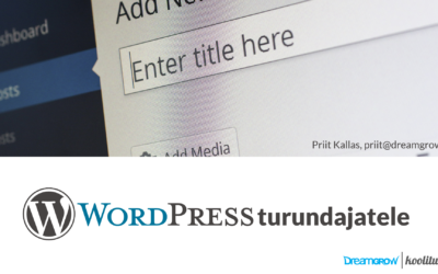 WordPressi koolitus turundajatele