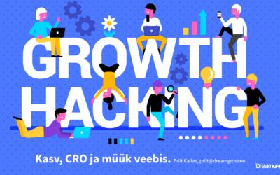 Growth Hacking koolitus, CRO ja müük veebis
